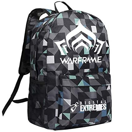 Amazon.com  Computer Game Warframe Backpack ACG Online Shoulder Bag Boys  and Girls School Men Daypack 2018 New  Kitchen   Dining 82a518c312