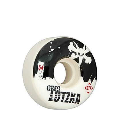 Bones Wheels Huesos Ruedas Pro Lutzka Calle Tech fórmula monopatín Rueda Set (54 mm x