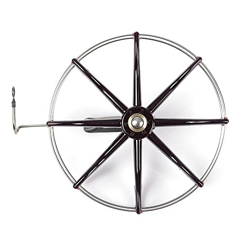 Cheap Smooth steel coil windmill gossip wheel raft fishing fly fly ice fishing reel diameter 150MM