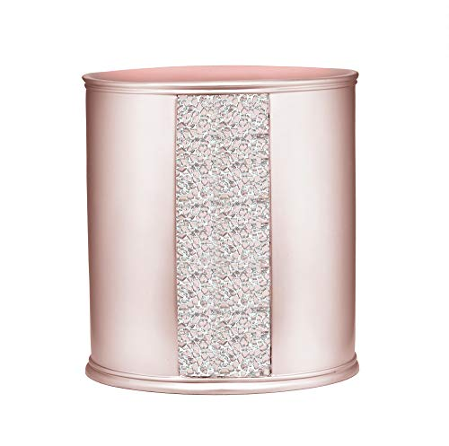 Popular Bath Sinatra Waste Basket, Blush (Bathroom Accessories Blush)