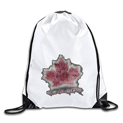 Duola Canada Hockey Team Logo Durable Gymsack - Ban Ray Louis St