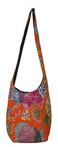 Mode coton Boho femmes Jhola de sac Lalhaveli de décoratifs rFwrxqaR
