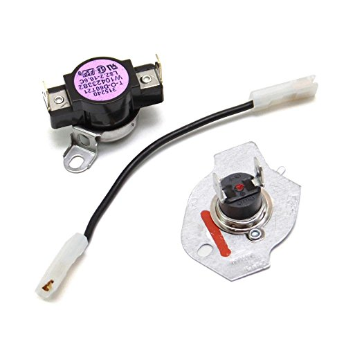 Whirlpool Part Number W10480709: CUTOFF-TML (Whirlpool Dryer Cutoff)