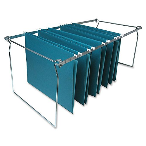 y Hanging File Folder Frames, Letter, 6 per Box, Stainless Steel (SPRSP26) (Company File Folders)