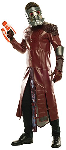 (Rubie's Costume Co Men's Guardians of The Galaxy Volume 2 Star-Lord Costume, As Shown,)