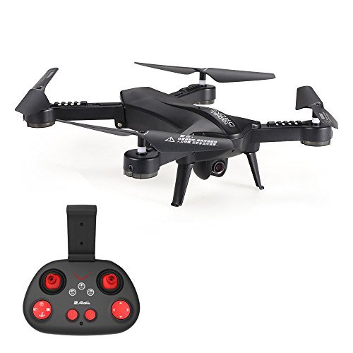 Foldable RC Drone, KINGBOT L6060  WIFI FPV Pocket Remote Control Quadcopter With 2.4GHz 6-Axis Gyro Wide Angle 720P HD Camera and Altitude Hold by KINGBOT
