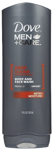 Dove Deep Moisture Body Wash On Face