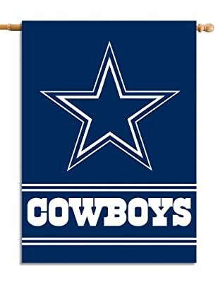 NFL Dallas Cowboys 2-Sided 28-by-40-Inch House Banner