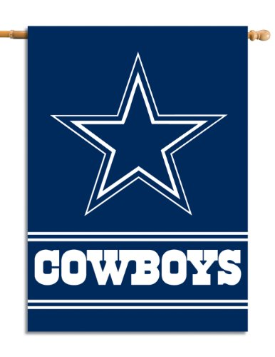 Case Nfl Cowboys Dallas (Fremont Die NFL Dallas Cowboys 2-Sided 28-by-40-Inch House Banner)