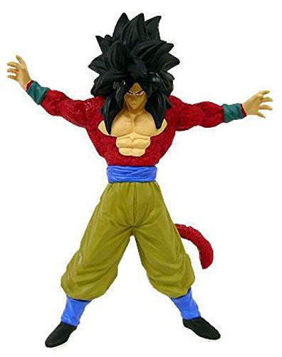 Dragonball Z BanPresto Deluxe Vinyl Statue 9 Inch Figure Super Saiyan 4 SS4 Goku
