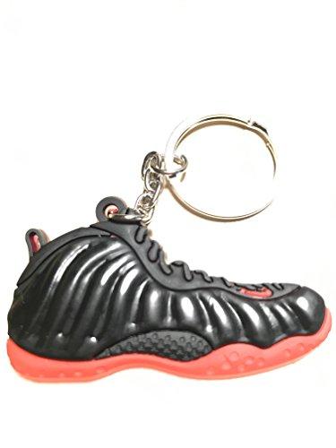 Nike Foamposite gezüchtete Schuh Wohnung 2-D Keychain Collectable