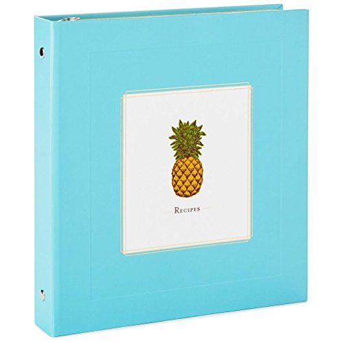 Hallmark Pineapple Recipe Binder by HMK