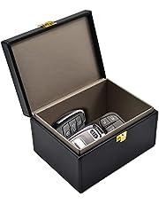 Faraday Key Fob Protector Box, RFID Signal Blocking Box, Car Key Signal Blocking Box Anti Theft Shielding Box for Car Keys