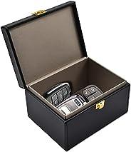 Faraday Key Fob Protector Box, RFID Signal Blocking Box, Car Key Signal Blocking Box Anti Theft Shielding Box