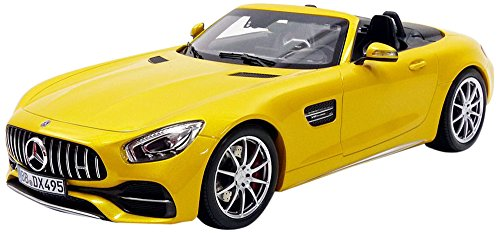 Norev NV183451 No 1:18 Mercedes-AMG GT C Roadster 2017- Yellow Metallic