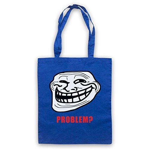 Trollface Meme Bolso Azur Real