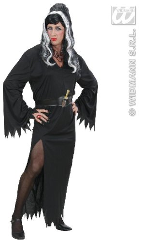 Mens Male Elvira Costume Extra Large Uk 46