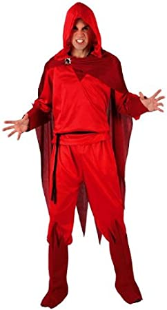 Atosa - Disfraz de diablo para hombre, talla 50-52 (8420000000000 ...