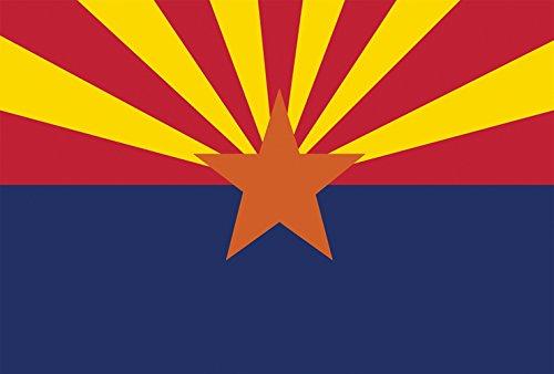 Toland Home Garden Arizona State Flag 12.5 x 18 Inch Decorative USA Garden Flag