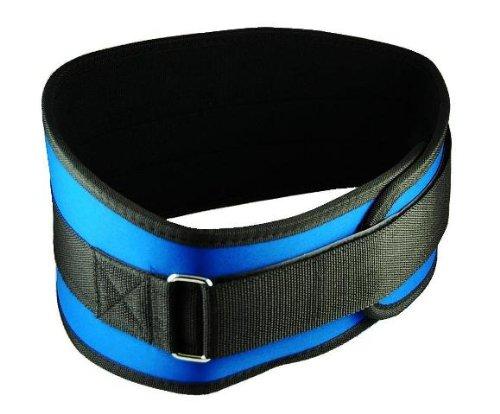 Back Support Belt - Size Large 36 - 42'' - Blue by Hawk