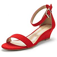 63c2abc82 10 Best Red Wedge Sandals For Women on Flipboard by transformreview