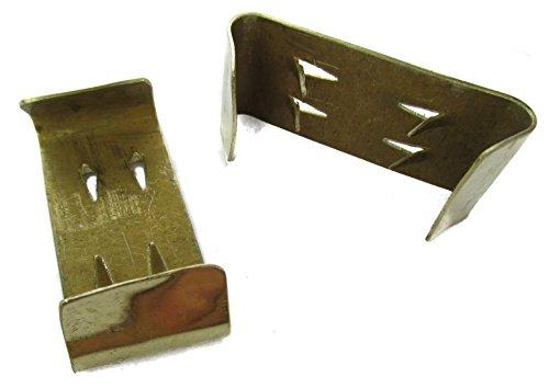 Details about Civil War Brass Belt Keepers - 1 PAIR Reproduction Brass Keepers Reenactments