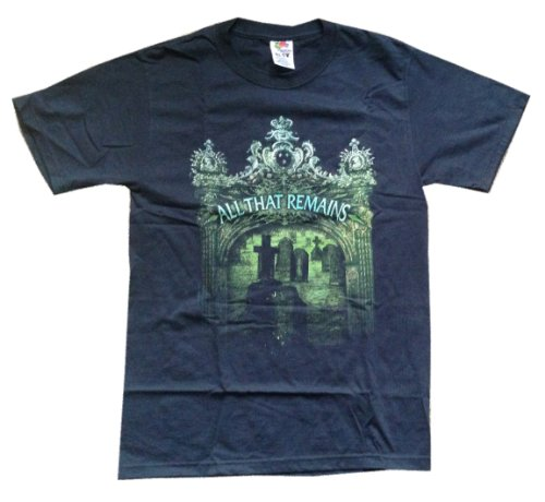 BigBoyMusic All That Remains - Cemetary Gate - Black T-Shirt - Size Small