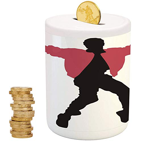 - iPrint Elvis Presley Decor,Kids Boys and Girls Money Bank,Christmas Birthday Gifts for Kids Boys Girls Home Decoration,American Artist King Icon Blues Performer Singer Silhouette