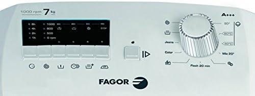 Fagor FET-7110 A Independiente Carga superior 7kg 1000RPM A+++ ...