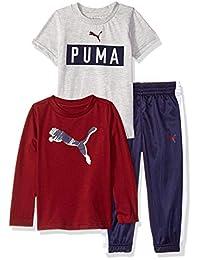 Conjunto de pantalón de tricot para niños pequeños de PUMA