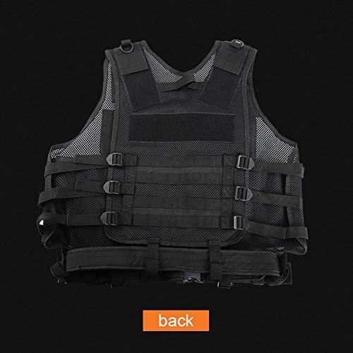 beautygoods Veste Tactique extérieure Costume d'armée de Campagne, Paintball Gaming Gilet Équipement Protecteur pour la… 5