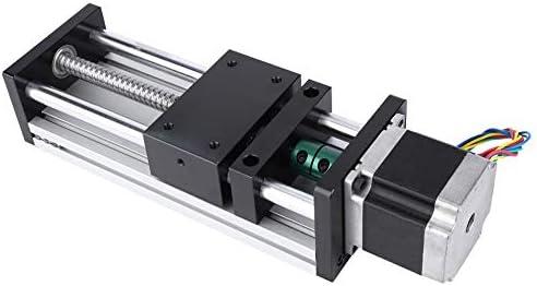 Actuador lineal 500 mm Longitud de recorrido Tornillo de bola Guía ...