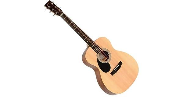 Sigma Omm de STL + zurdos Western Guitarra: Amazon.es ...