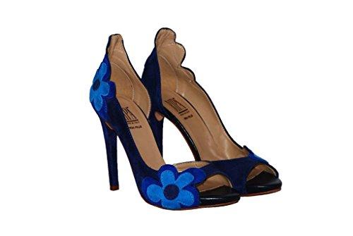 Hohe Pumps Decollete aus Leder Damen RIPA shoes - 50-01531