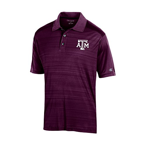 NCAA Texas A&M Aggies Adult Men Short sleeve Colorblocked, X-Large, Maroon - Texas Tailgate Golf