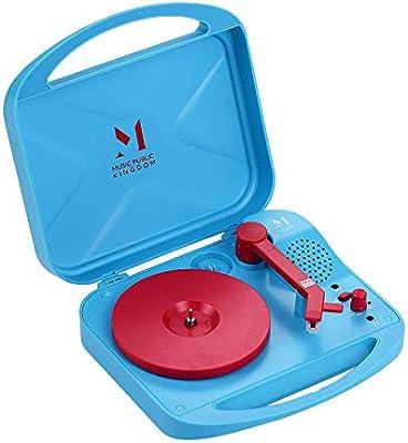 Muslady Reproductor de Discos Portátil para Fonógrafo de ...