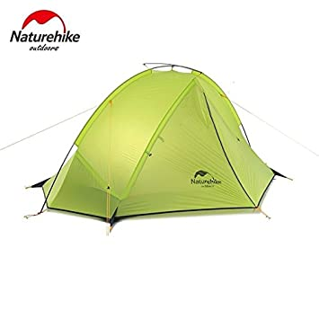 Naturehike Ultralight Single Layer C&ing Tent 3 Season Waterproof Hiking Tent for 1/2 Persons  sc 1 st  Amazon UK & Naturehike Ultralight Single Layer Camping Tent 3 Season ...
