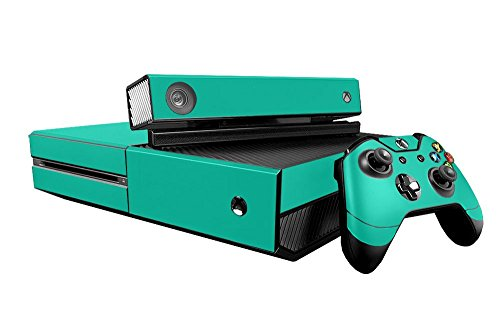 Microsoft Xbox One Skin (XB1) - NEW - TEAL TURQUOISE system skins faceplate decal mod (Faceplates Turquoise)