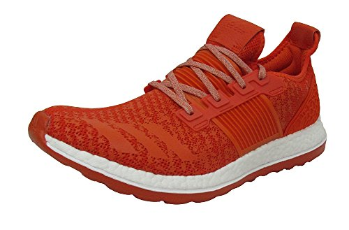 adidas Rendimiento Hombre Pureboost ZG Running Shoe Collegiate Orange/Collegiate Orange/Light Grey