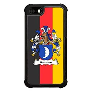 Ammon Family Crest German Coat of Arms Click America Tuff Impact iPhone 5s Case