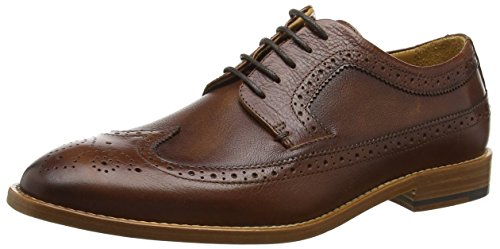 Sebago Collier Wing Tip - Zapatos de vestir Hombre Marrón - Brown (Brown Leather)