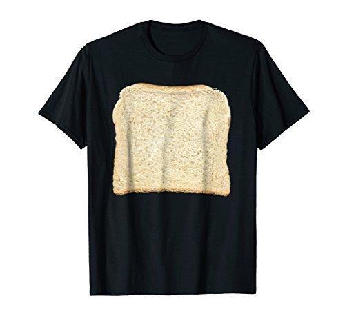 Mens Bread & Toast T-Shirt Halloween Costume Ideas Large Black -