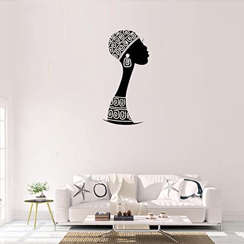 Inicio Deocration Mujer africana Vinilo Tatuajes de pared Mujer ...