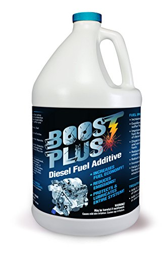 Boost PLUS best Diesel Engine Fuel Additive Cleans Engine & Increases Fuel Economy - 1 Gallon