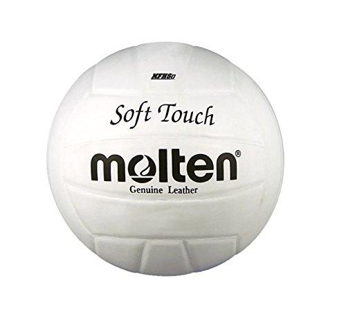 MOLTEN 5 - Balón de voleibol para exterior, color blanco, talla Größe 5