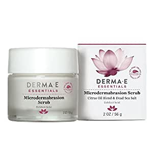 DERMA E Microdermabrasion Scrub with Dead Sea Salt 2oz