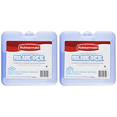 Rubbermaid - Blue Ice Brand Weekender Pack, Size 7  x 1.63  x 6.75 (2 Pack)