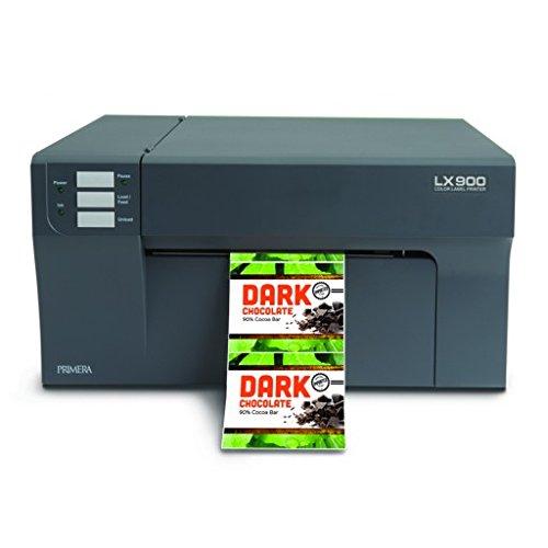 Primera 74415 Pigment Ink LX900 Color Label Printer North America & Japan Plug, 100-240 VAC