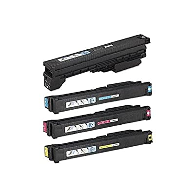 PRINTJETZ Premium Compatible Replacement 4Pk Canon GPR21 (Black, Cyan, Yellow, Magenta) Toner Cartridge Color Set for use with Canon imageRUNNER C4080, C4080i, C4580, C4580i