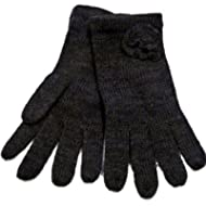 3 x Pairs Mens Ladies Black Magic Fingerless Warm Stretch Thermal Gloves half
